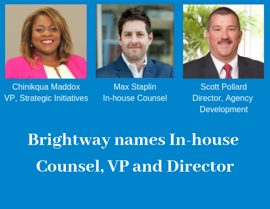 Brightway Insurance Names Max Staplin In House Counsel Announces
