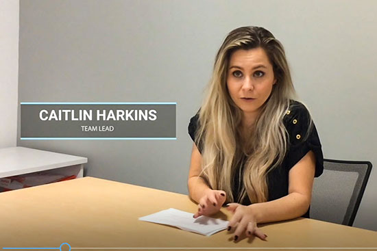 Caitlin Harkins Brightway Insurance Career