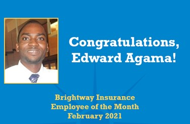 Employee Of The Month Edward Agama FEB2021 536X351