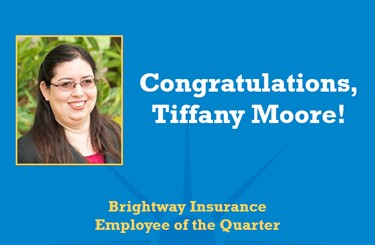 Tiffany Moore Employee Of The Quarter 536X351